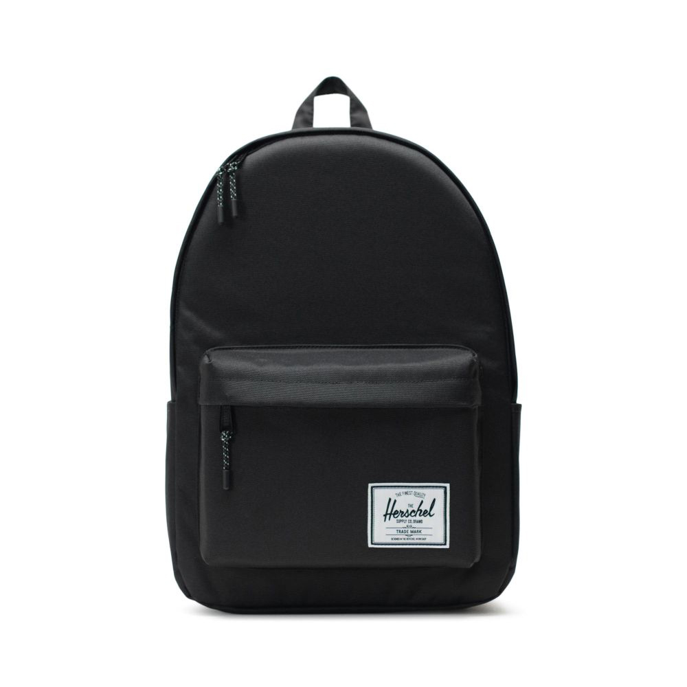 Image of a black herschel classic XL backpack